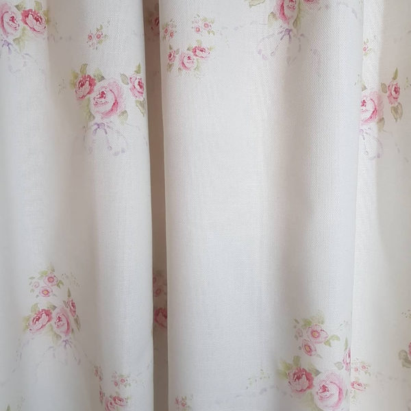 Rose and Bows Fabric
