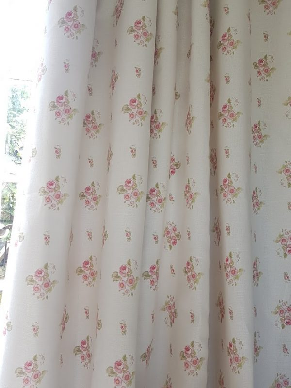 Eidelwiss-Roses-Faded-Floral-Linen-Fabric-Curtains