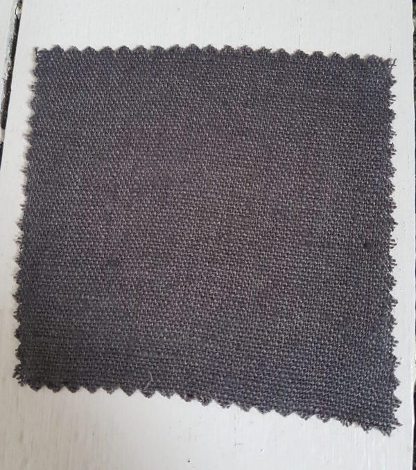 stonewashed linens fabric Graphite