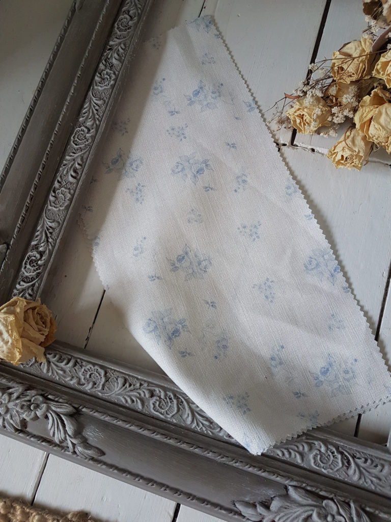 French Faded Blue Rose