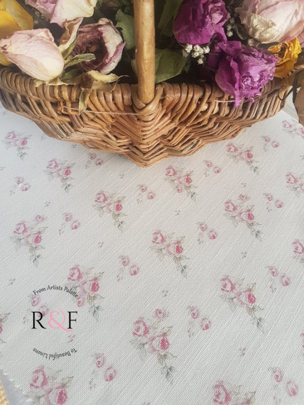 Ditsy Roses Floral Linen