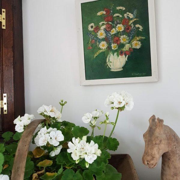 Jug of Garden Flowers