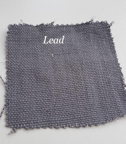 Lead upholstery linen