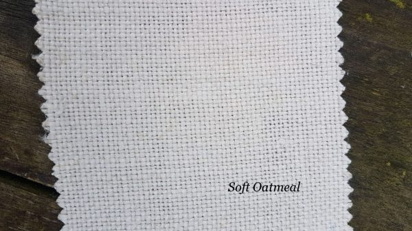 Soft Oatmeal upholstery linen by rose and foxgloves