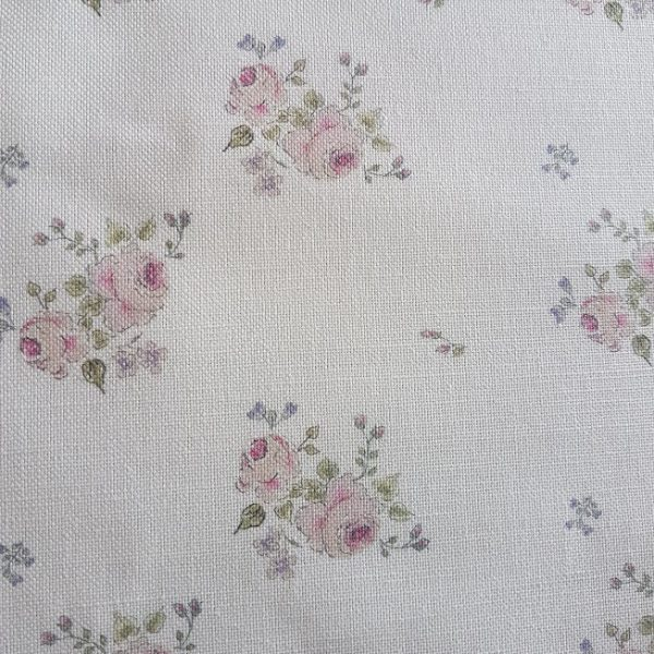 Abby Rose Floral Linen By Rose and Foxgloves